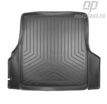 Коврик в багажник VW Vento резино-пластиковый Unidec