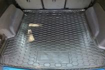 Полиуретановый коврик багажника Audi Q7 2015-  AvtoGumm