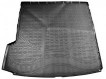 Коврики в багажное отделение для Volvo XC90 (2015) (сложенный 3 ряд) полиуретановые Норпласт