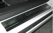 N-nikо Накладки на пороги Chevrolet Cruze 4D/5D 2008-2011-