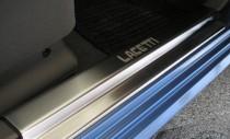 N-nikо Накладки на пороги Premium Chevrolet Lacetti 2004-