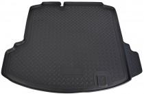 """Коврики в багажное отделение для Volkswagen Jetta (SD) (2011) (c """" ушами"""") полиуретановые Норпласт"""