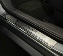 N-nikо Накладки на пороги Mitsubishi Outlander III 2012-14-