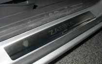 N-nikо Накладки на пороги OPEL ZAFIRA B 2005-