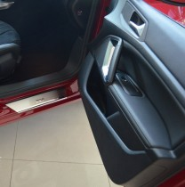 N-nikо Накладки на пороги Peugeot 308 II 5D 2014-