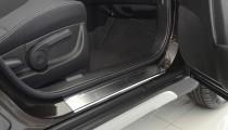 N-nikо Накладки на пороги Suzuki SX 4 5D 2014-