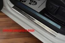 N-nikо Накладки на пороги TOYOTA COROLLA X 4D 2007-