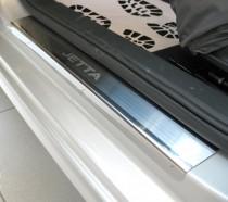 N-nikо Накладки на пороги VW Jetta VI 2011-