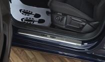 N-nikо Накладки на пороги VW Passat B8 4D/Variant 2014-