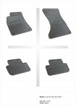 Резиновые коврики в салон AUDI A4 - B8 2007-2015 EL TORO