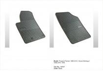 Резиновые коврики в салон Citroen Berlingo I - VAN 1999-2010