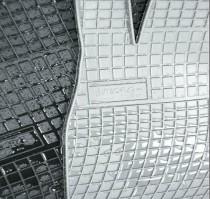 Резиновые коврики в салон Fiat Doblo II 2os 2008-