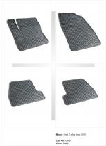 Резиновые коврики в салон Ford C-Max 2011-