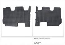 EL TORO Резиновые коврики в салон Kia Sorento III 3rd row 2015-