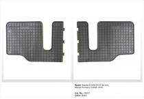 Резиновые коврики в салон Mazda 5 3-rd 2005-2010