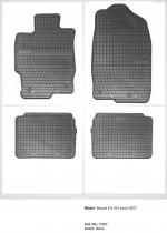 Резиновые коврики в салон Mazda 6 II GH 2007-2013