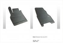 Резиновые коврики в салон Mercedes Citan 2012- передние