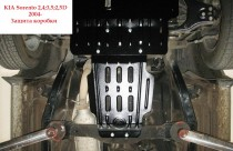 "Авто-Полигон KIA Sorento 2,4л;3,5л;2,5D c 2004г. Защита КПП категории ""B"""