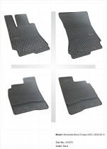 Резиновые коврики в салон Mercedes S-Klasa W221 2005-2013 EL TORO