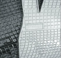 Резиновые коврики в салон Renault Scenic II 2003-2009