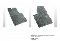 EL TORO Резиновые коврики в салон Opel Vivaro 2001-2014
