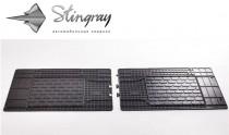 Резиновые универсальные коврики UNI TWIN (1550х450) 2-й, 3-й ряд Stingray