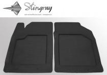 Резиновые универсальные коврики UNI Practic передние Stingray