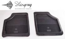 Резиновые универсальные коврики UNI Prima Lux передние Stingray