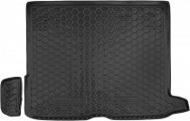 Резиновые коврики в багажник Mercedes GLC (X253) (2015>)  AvtoGumm