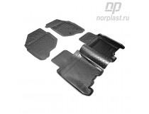 Unidec Коврики резиновые Honda Fit (GD) (2001-2008) (прав.руль)
