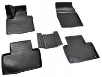 Коврики салонные для Volvo XC90 3D (2015) полиуретан Норпласт