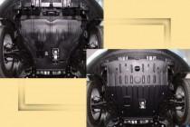 """Авто-Полигон MAZDA СX-7 2,3T 2006-. Защита моторн. отс. ЗМО категории """"A"""""""