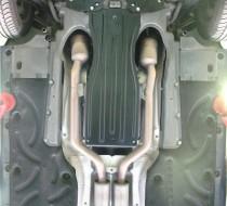 """Авто-Полигон Mercedes-BENZ S-class W221 4,7 2006- Защита коробки категории """"St"""""""
