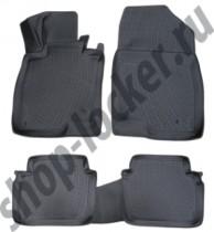 L.Locker Коврики в салон Mazda 6     3D 2012-  полиуретановые