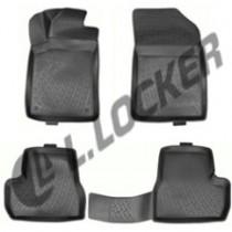 L.Locker Коврики в салон Citroen С3 2002- полиуретановые