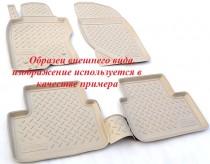 Ковры салонные для Kia Stinger 3D Бежевый Unidec