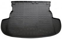 Коврики в багажное отделение для   Mitsubishi Outlander 2012 (без органайзера) полиуретановые Норпласт