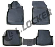L.Locker Коврики в салон  Opel Astra J GTC 3D 2011-  полиуретановые