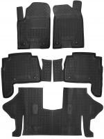 GAvto Резиновые коврики в салон INFINITI Y62 (QX56, QX80) (2010>) (7мест)