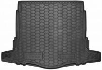 Резиновые коврики в багажник Nissan X-Trail T32 (2017>) (с докаткой)  AvtoGumm