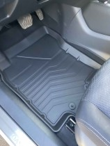 Резиновые коврики в салон Nissan Rogue (2015-) СРТК