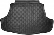 Резиновые коврики в багажник Toyota Camry (2018>)