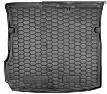 Резиновые коврики в багажник Renault Duster (2018>) 2WD