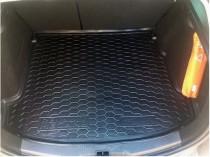 Резиновые коврики в багажник Renault Megane Ill (2010>) (Универсал2)  AvtoGumm