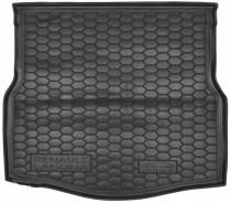 Резиновые коврики в багажник Renault Laguna III (2007>) (лифтбэк)