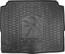 Резиновые коврики в багажник Peugeot P 3008 (2017>) (нижняя полка)