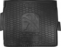 Резиновые коврики в багажник Peugeot P 3008 (2017>) (верхняя полка)
