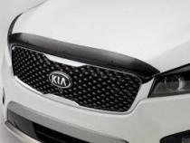 Vip tuning Дефлектор капота   Kia Sorento Prime (UM) с 2014 г.в. (корткий)