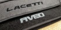 Коврики в салон Chevrolet Aveo (Т200) 2002-2007 г.в. ворсовые Concorde