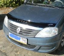 Vip tuning Дефлектор капота  Renault Logan с 2005-2013 г.в